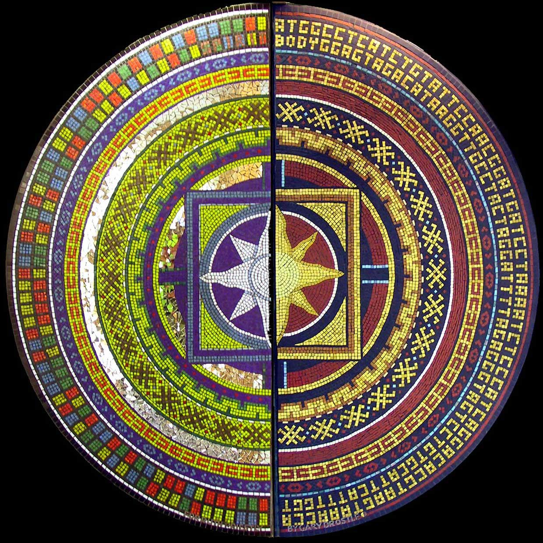Body and Spirit mosaic