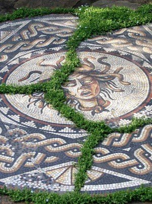 Scent of a roman floor mosaic
