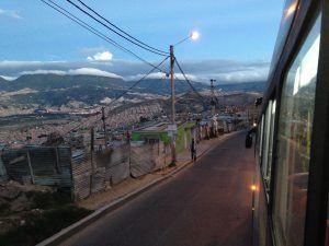 Bus ride to Paraiso