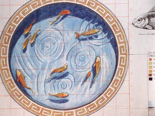 The original fishpond design 1996