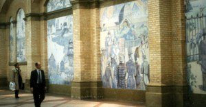 Alexandra Palace Murals
