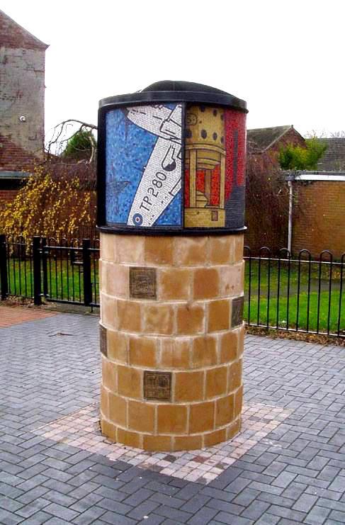 Hucknall Gateway Heritage Marker
