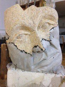 Look upon my work sculpture