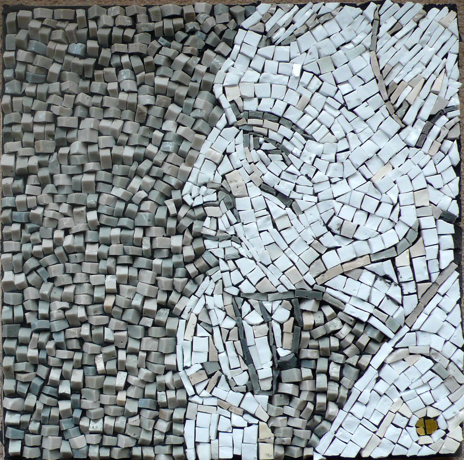the middle distance mosaic