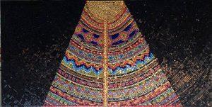 Wall mosaic columbia