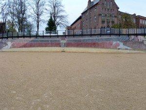 Chester roman amphitheatre wall mosaic