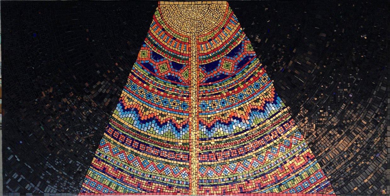 La puerta southamerica wall mosaic