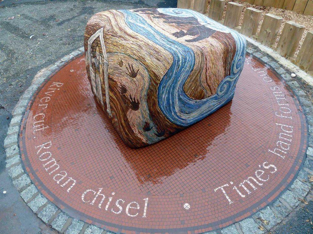 Times hand sculpture