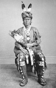 Deer Thigh, Iowa Native American