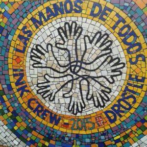 Las Manos De Todos mosaic hands