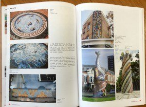 Mosaique magazine feature page