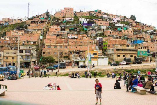 The Paraiso Barrio, Bogota, Colombia