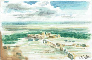 Palmyra after the rain 1994