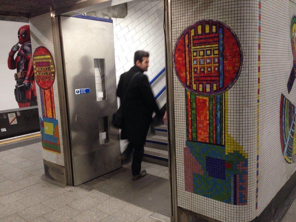 Tottenham Court Road Mosaics