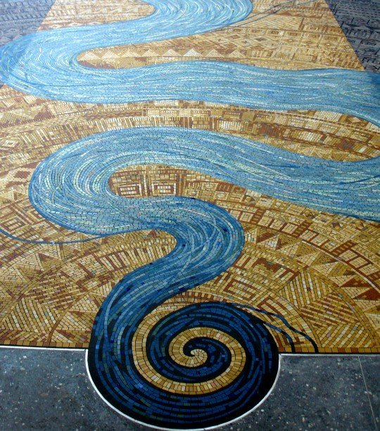The River of Life mosaic