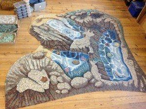 Tidepool mosaic by Gary Drostle