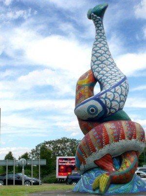 Rouse Kent Award Sculpture