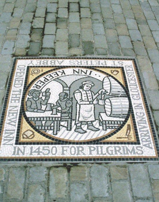 Inn Keeper Mosaic
