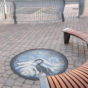 Heron Rhynes Mosaic – Somerset