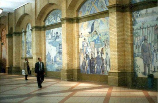 The Alexandra Palace Murals