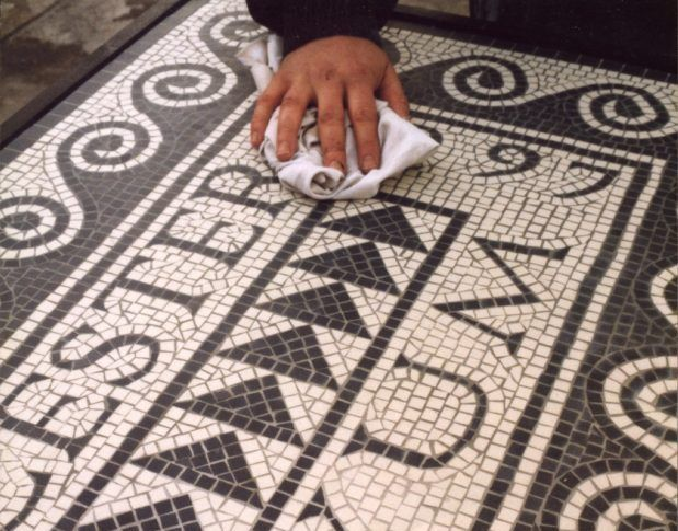Mosaic cleaning