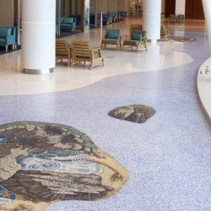 Stanford Hospital lobby