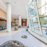 Seashore mosaics at Lucile Packard Childrens Hospital