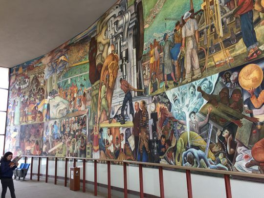Diego Rivera's Pan American Unity Mural in San Francisco