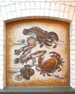 Fruits De Mer Mosaic