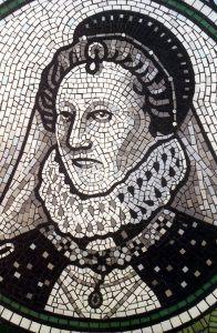 Queen Elizabeth I mosaic portrait