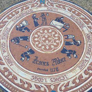 Lesnes Abbey Mosaics