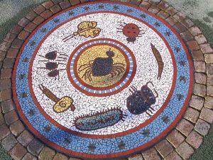 Carpenters Road Infant School - Mini Beasts Mosaic
