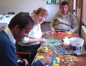 Carterton mosaic workshop
