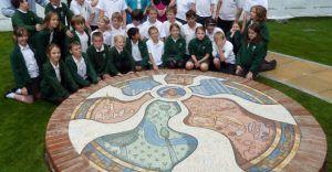 Hemel Magic Roundabout Mosaic