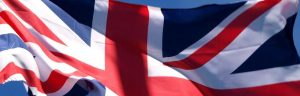 Union Flag of United Kingdom