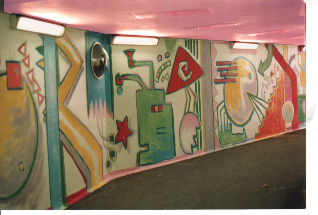 Archway Underpass Murals
