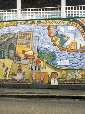 Love Over Gold Mural Deptford