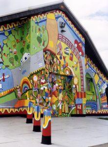 Hockwell Ring Carnival Community Centre Mural