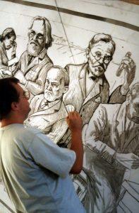 Painting Freud