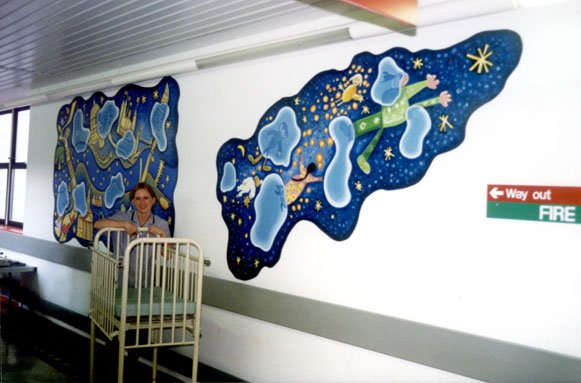 Great Ormond Street Peter Pan Mural