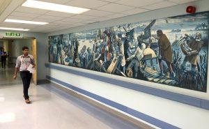 Queen Elizabeth Hospital, Woolwich Riverfront History Mural