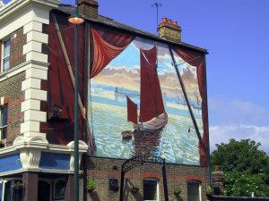 Erith Thames Barge Heritage Mural