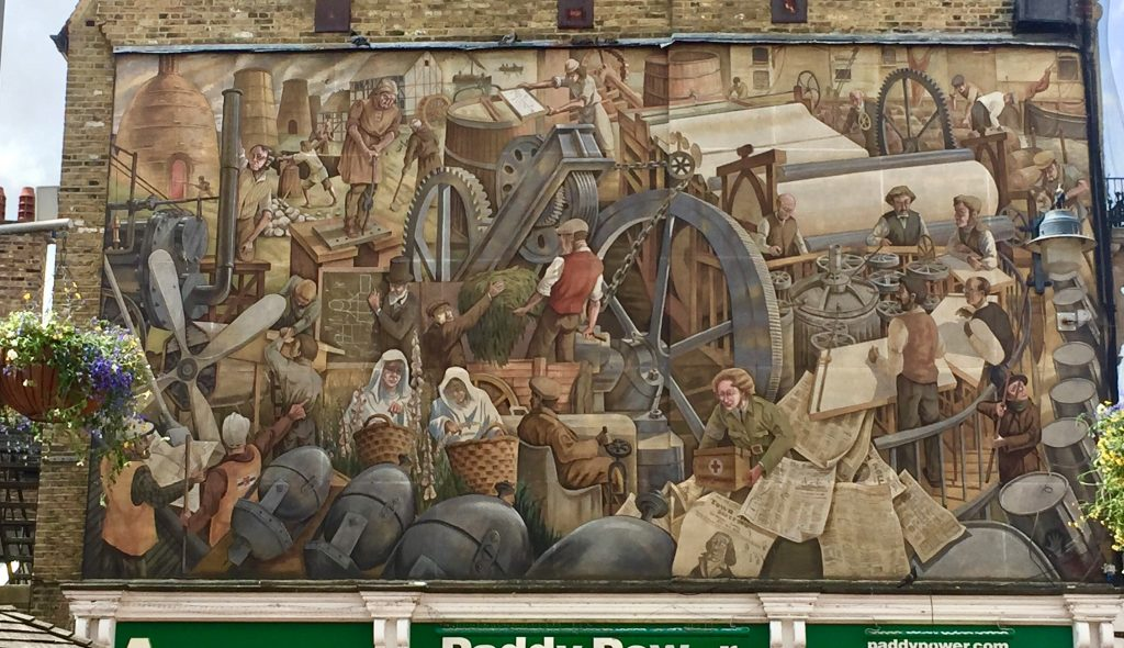 Dartford Industrial Heritage Mural