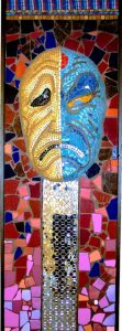 Comedy & Tragedy Mosaic