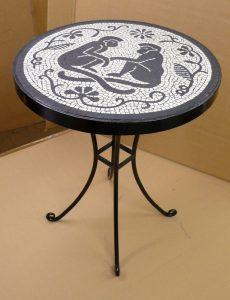 Monkey Table Mosaic