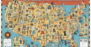 Public Art Map of USA