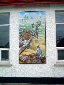 Portavogie Fishing Mural