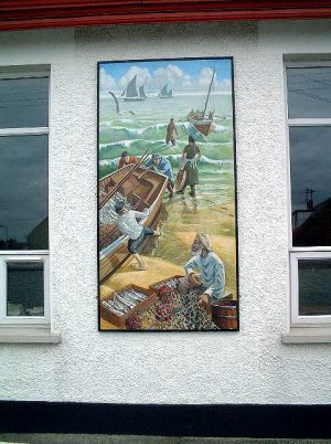 Portavogie Fishing Mural