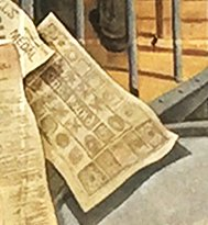 Banknote - Dartford Heritage Mural