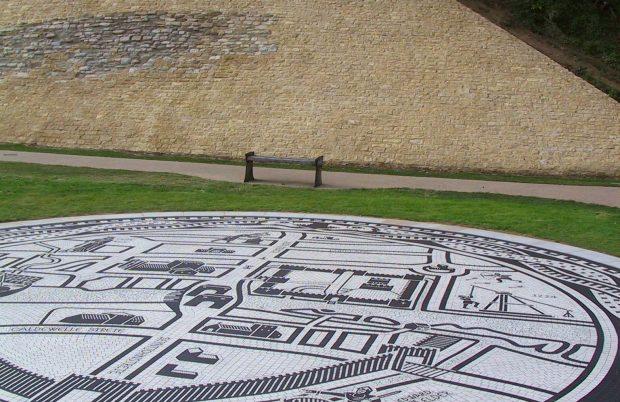 Bedford Castle Mosaic